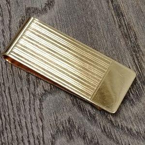 Other - Vintage Gold Tone Money Clip
